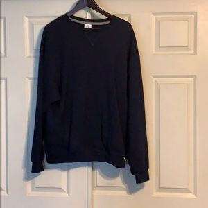 Thick Navy Crewneck Sweater
